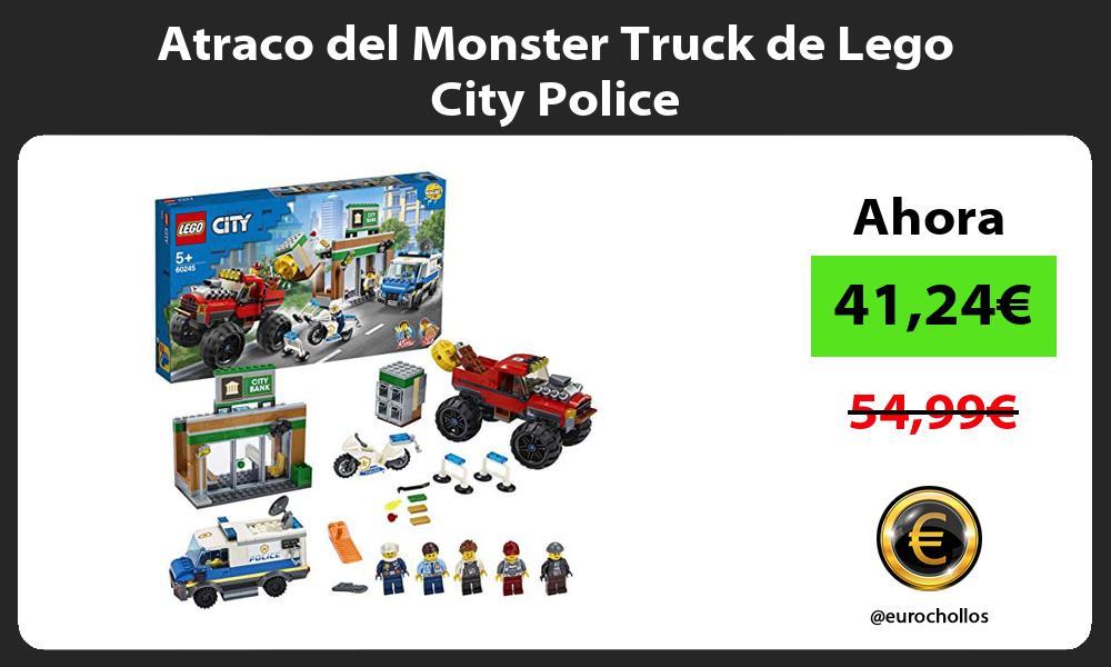 Atraco del Monster Truck de Lego City Police