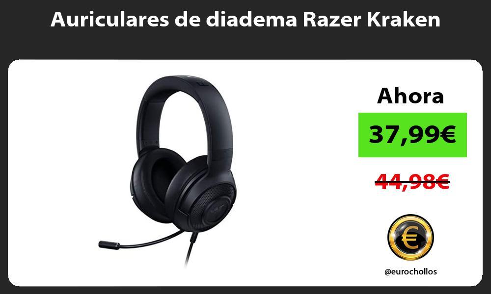 Auriculares de diadema Razer Kraken