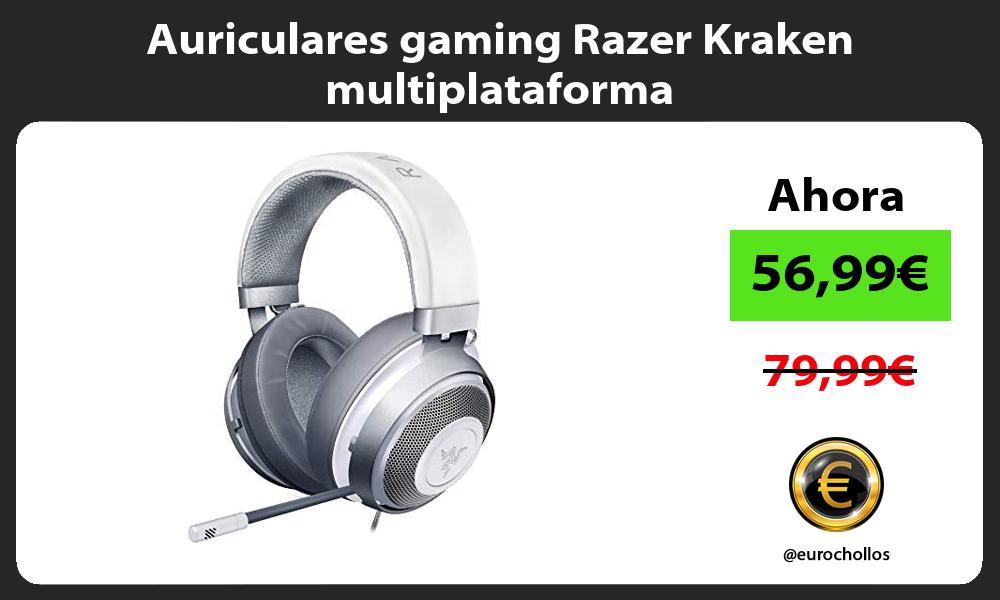 Auriculares gaming Razer Kraken multiplataforma