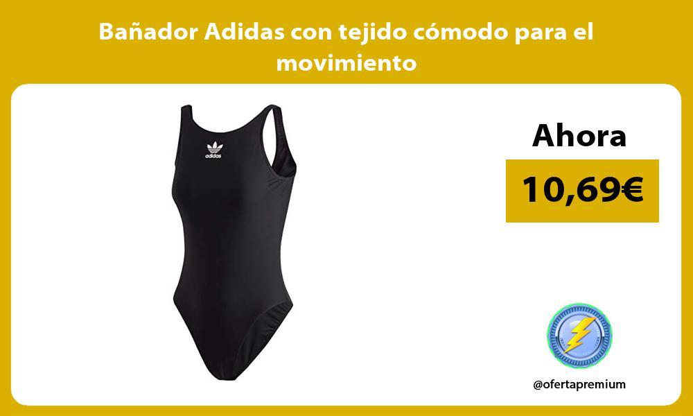 Bañador Adidas con tejido cómodo para el movimiento