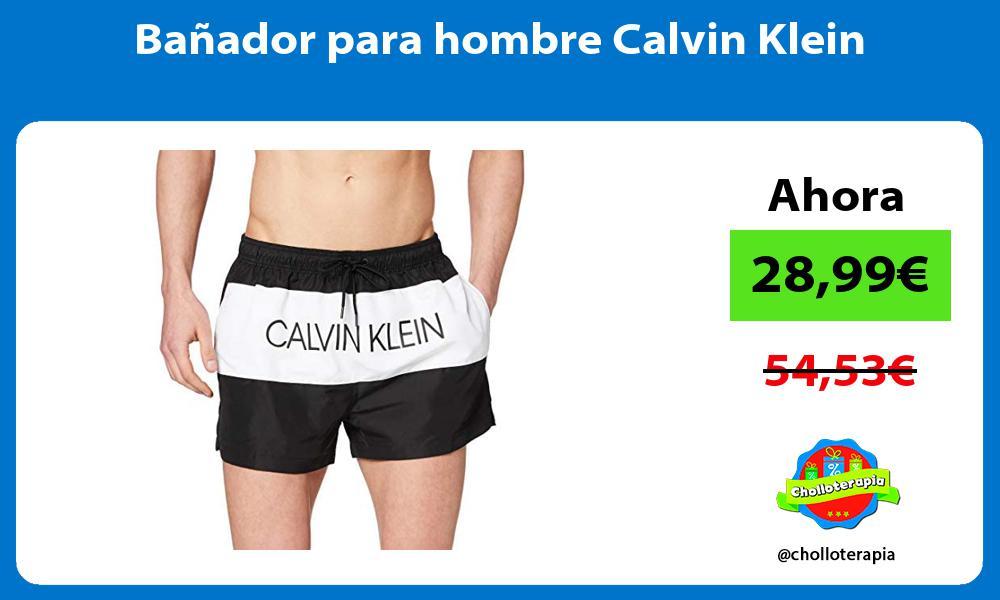 Bañador para hombre Calvin Klein