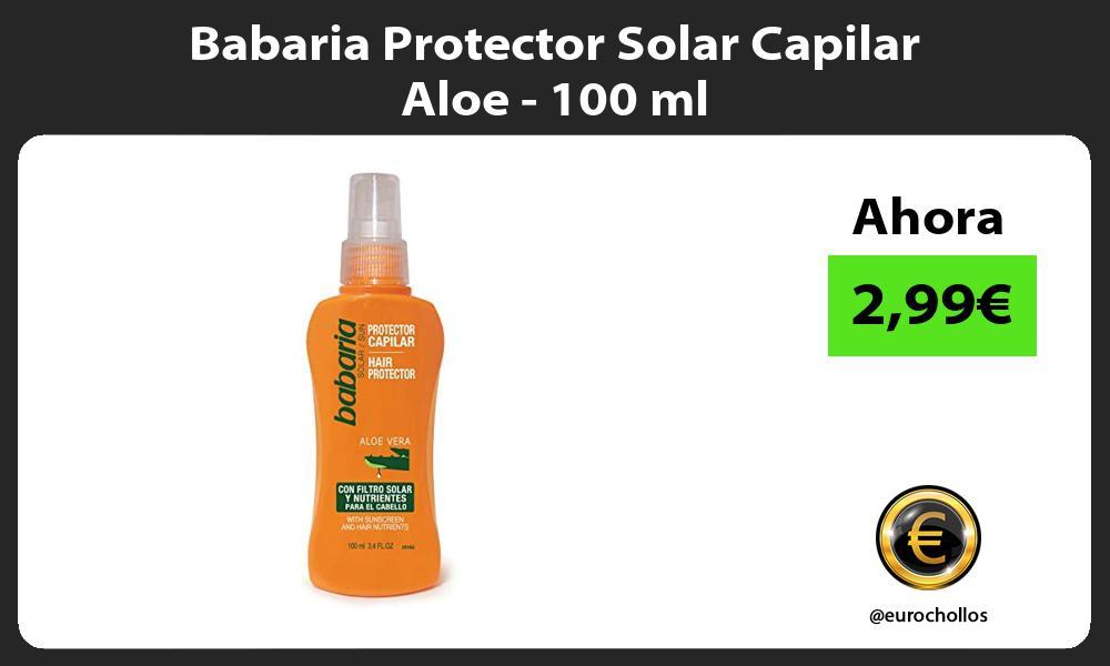 Babaria Protector Solar Capilar Aloe 100 ml
