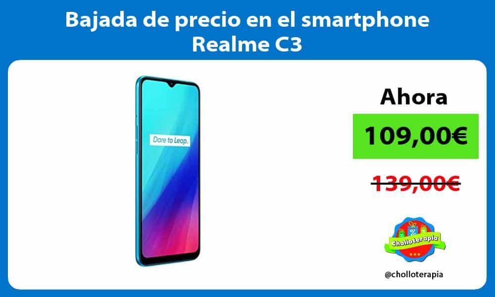 Bajada de precio en el smartphone Realme C3