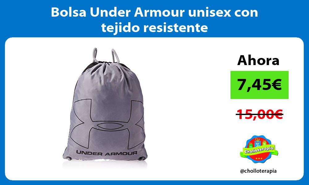 Bolsa Under Armour unisex con tejido resistente