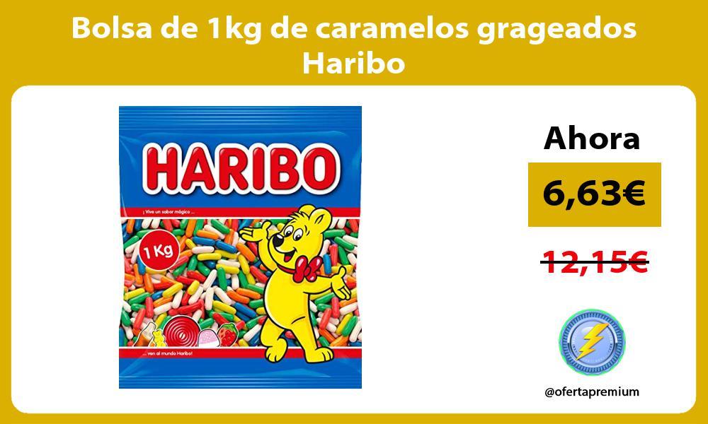 Bolsa de 1kg de caramelos grageados Haribo