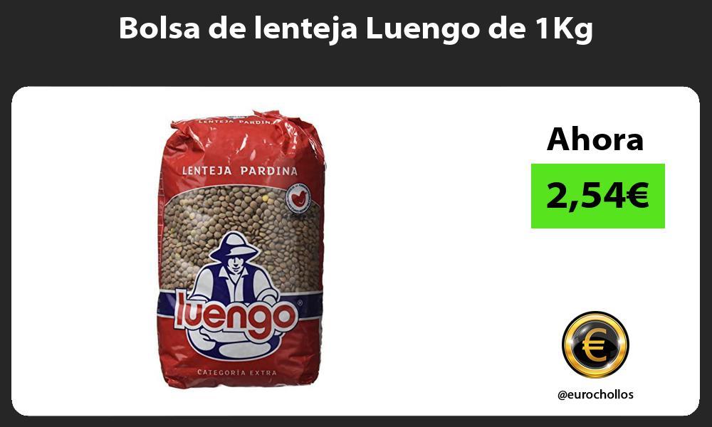 Bolsa de lenteja Luengo de 1Kg