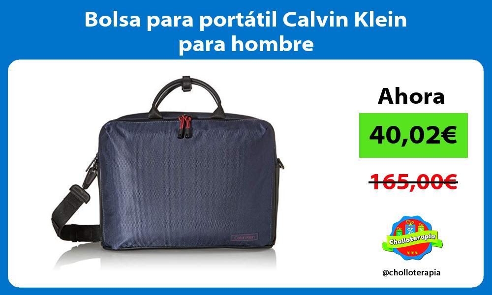 Bolsa para portátil Calvin Klein para hombre