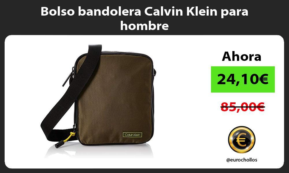 Bolso bandolera Calvin Klein para hombre