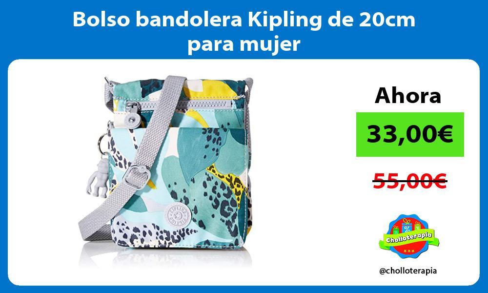 Bolso bandolera Kipling de 20cm para mujer