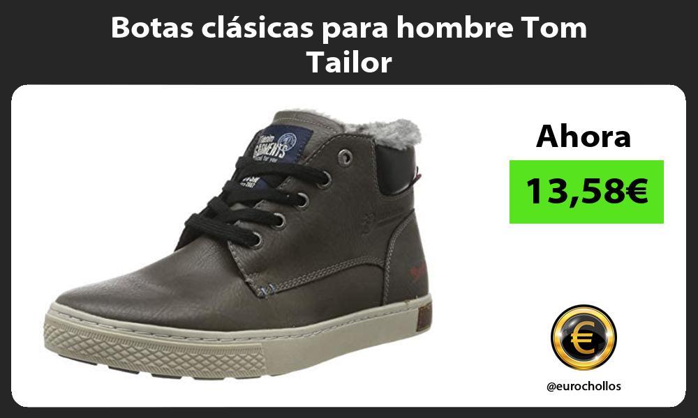 Botas clásicas para hombre Tom Tailor