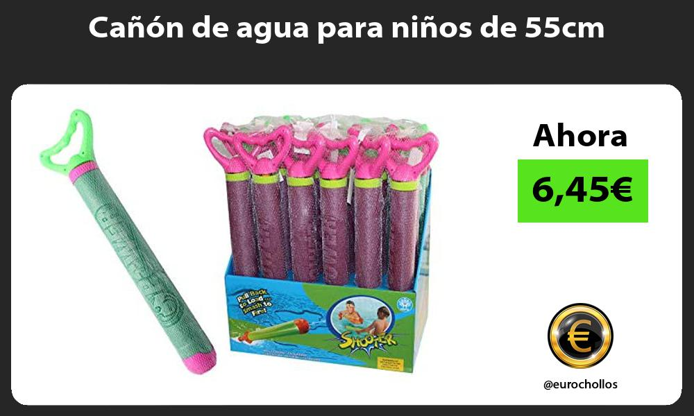 Cañón de agua para niños de 55cm