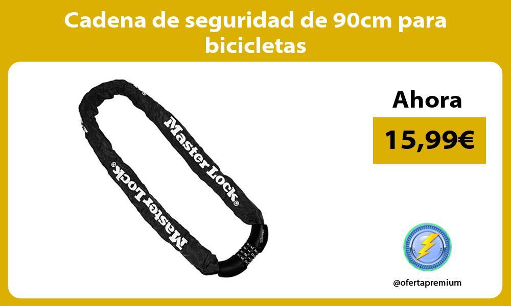 Cadena de seguridad de 90cm para bicicletas