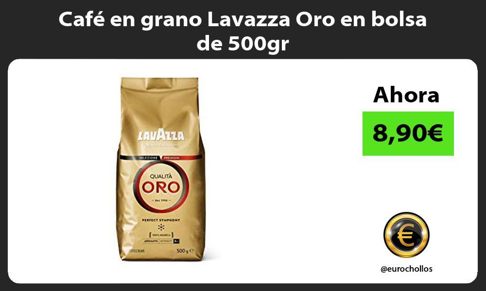 Café en grano Lavazza Oro en bolsa de 500gr