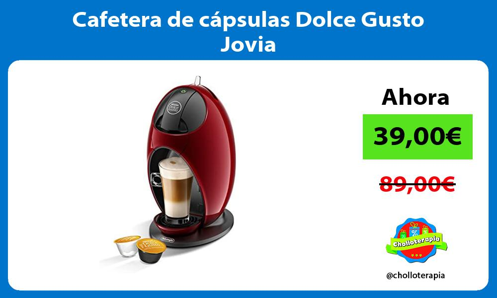 Cafetera de cápsulas Dolce Gusto Jovia