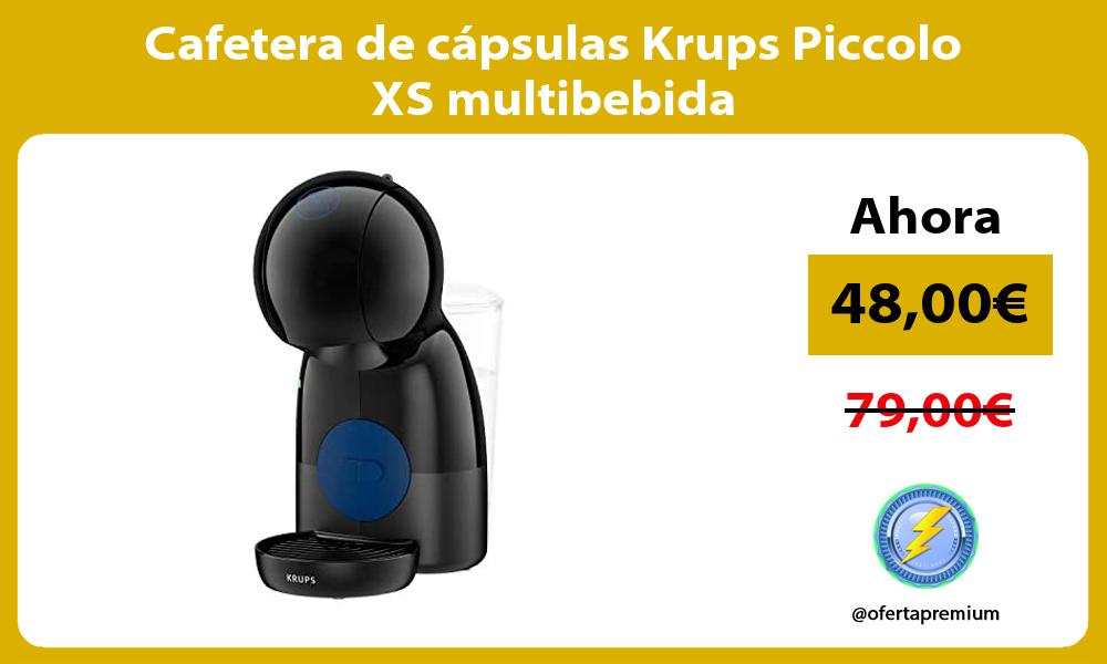 Cafetera de cápsulas Krups Piccolo XS multibebida