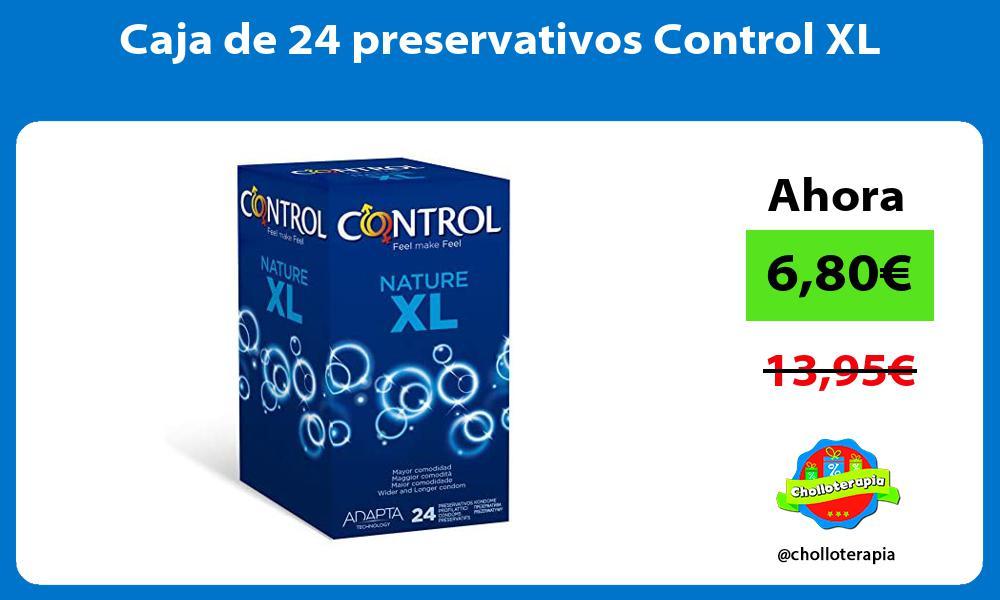 Caja de 24 preservativos Control XL