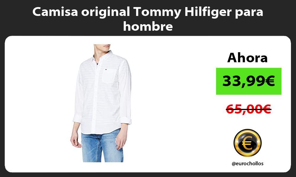 Camisa original Tommy Hilfiger para hombre