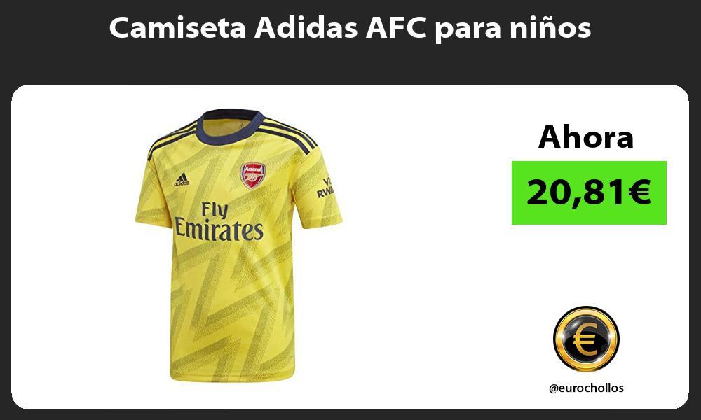 Camiseta Adidas AFC para niños