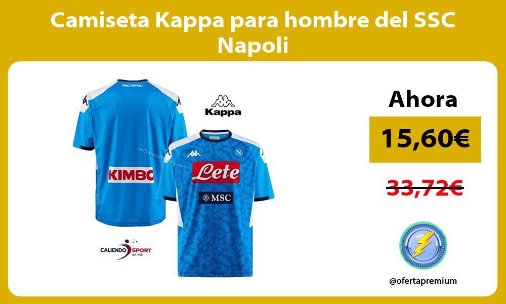 Camiseta Kappa para hombre del SSC Napoli