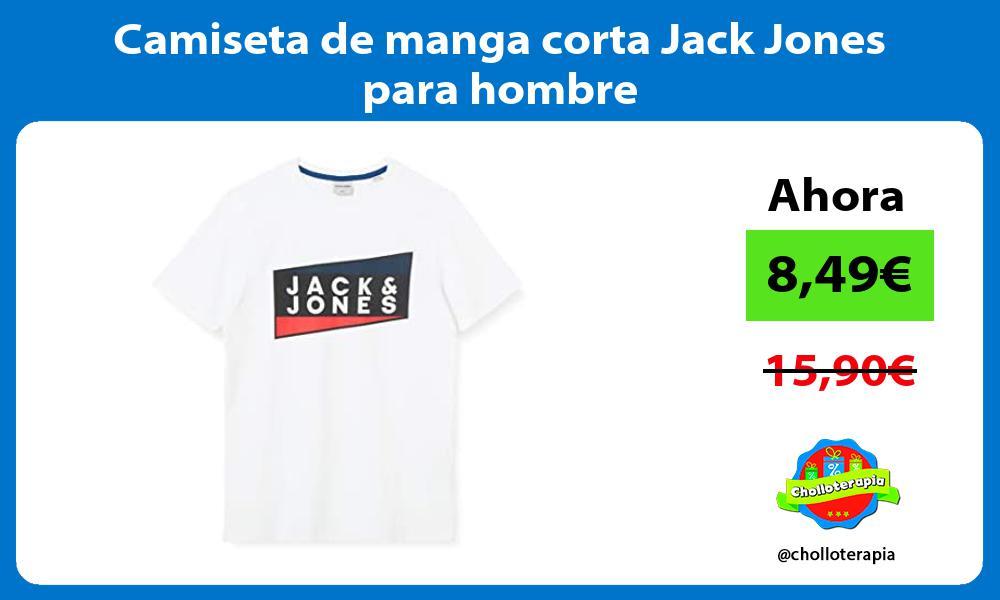 Camiseta de manga corta Jack Jones para hombre