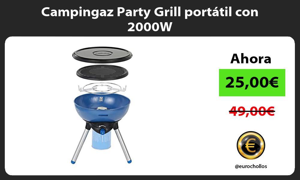 Campingaz Party Grill portátil con 2000W