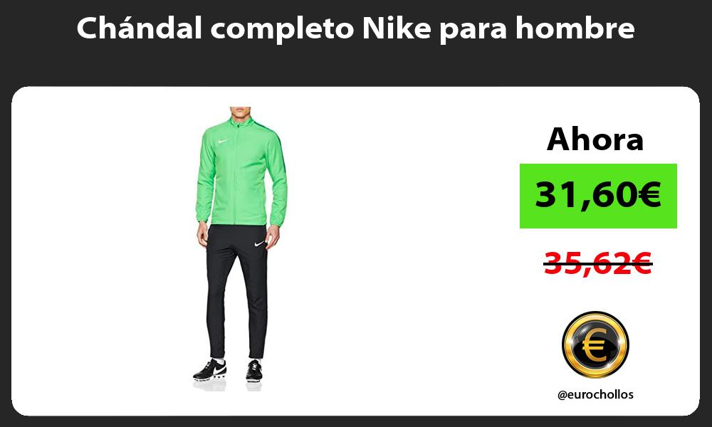 Chándal completo Nike para hombre