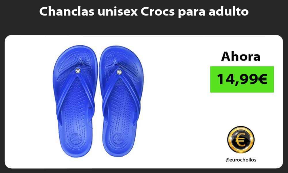 Chanclas unisex Crocs para adulto