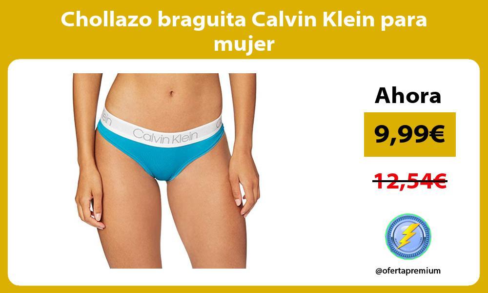 Chollazo braguita Calvin Klein para mujer