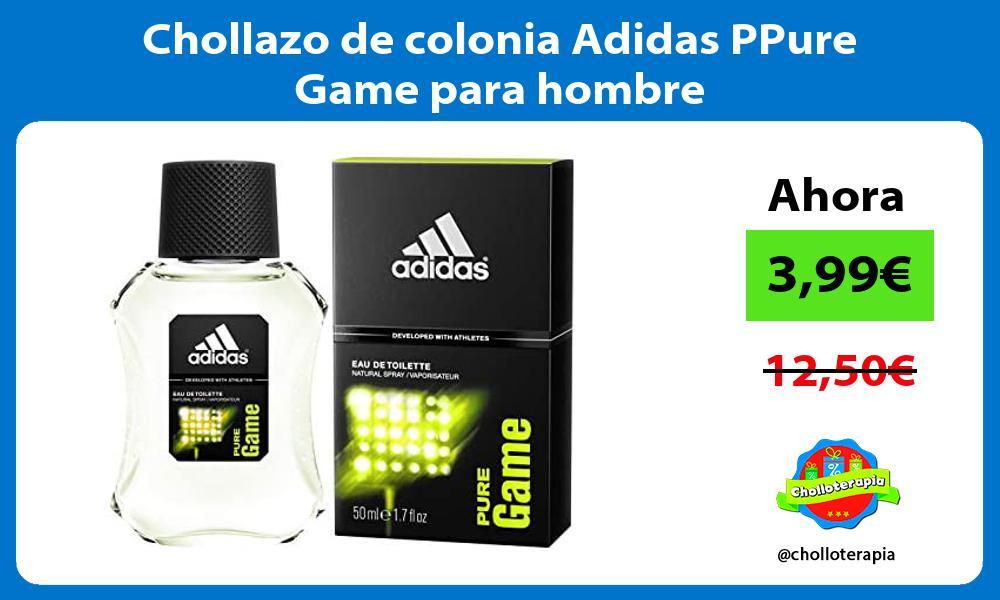 Chollazo de colonia Adidas PPure Game para hombre