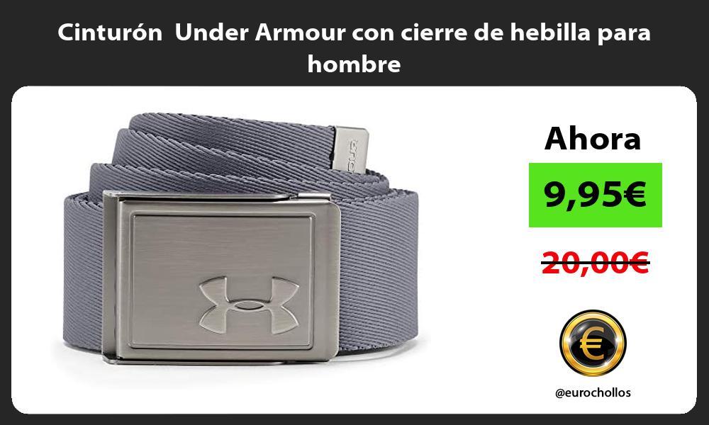 Cinturón Under Armour con cierre de hebilla para hombre