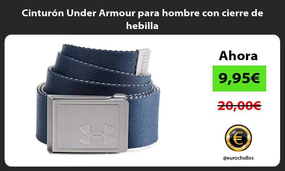 Cinturón Under Armour para hombre con cierre de hebilla