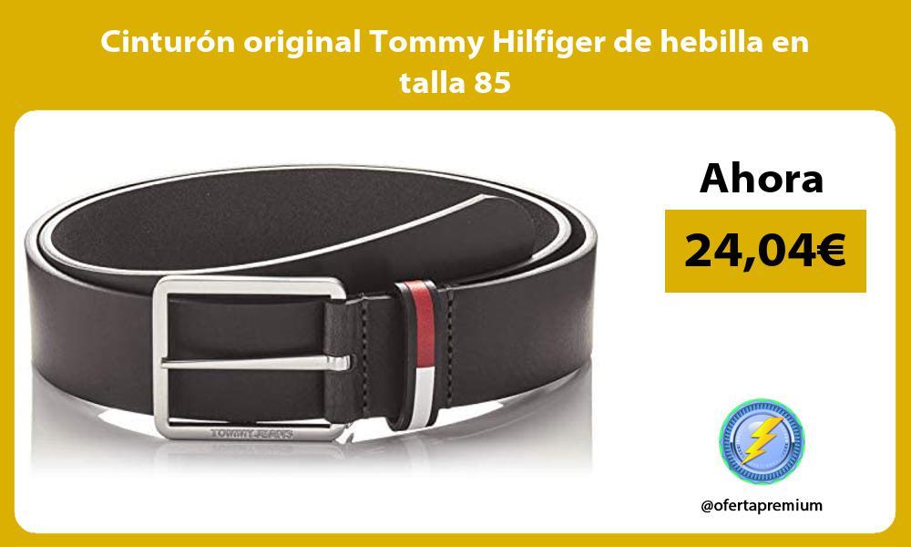 Cinturón original Tommy Hilfiger de hebilla en talla 85