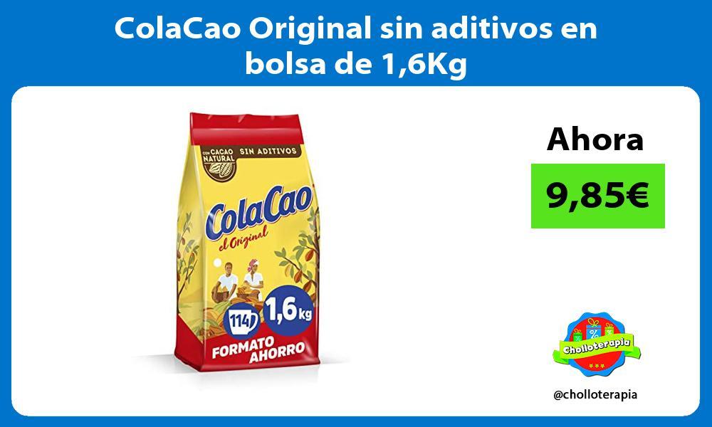 ColaCao Original sin aditivos en bolsa de 16Kg