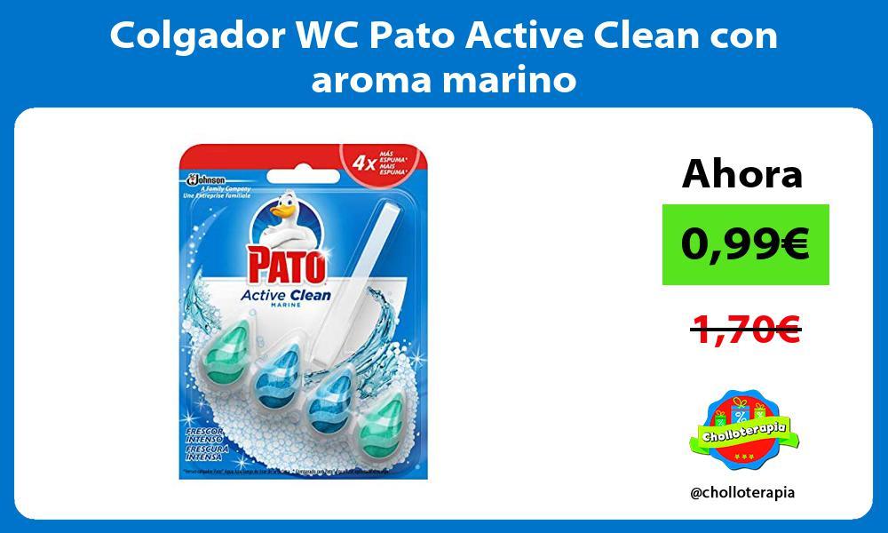 Colgador WC Pato Active Clean con aroma marino