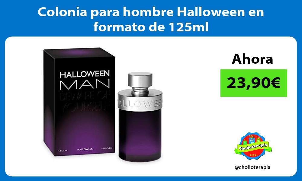 Colonia para hombre Halloween en formato de 125ml