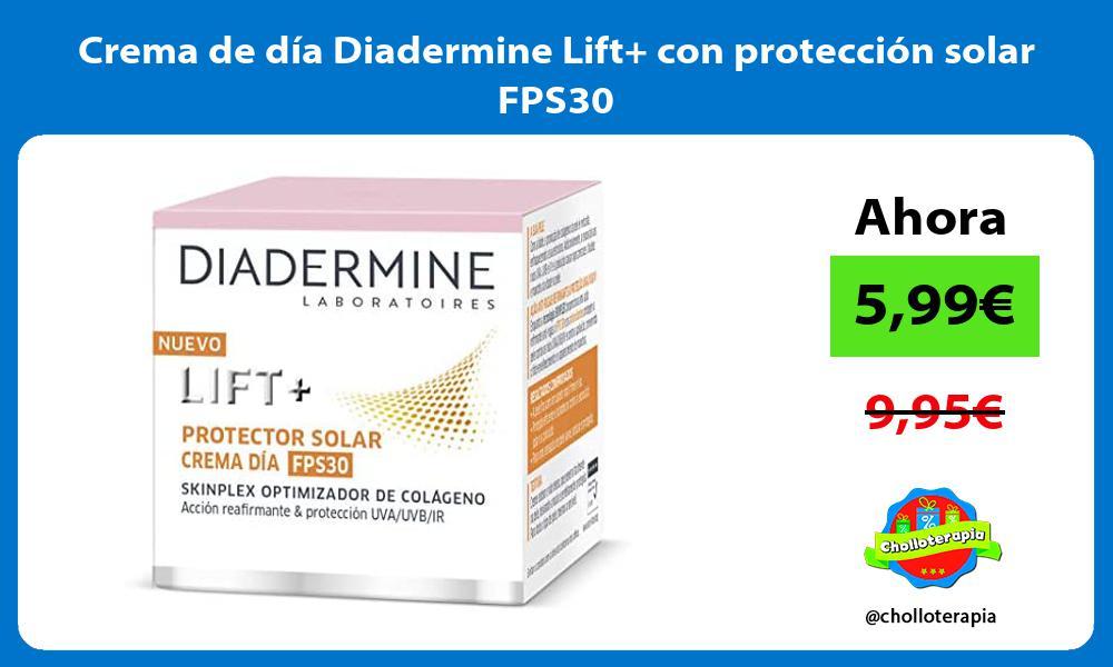 Crema de día Diadermine Lift con protección solar FPS30