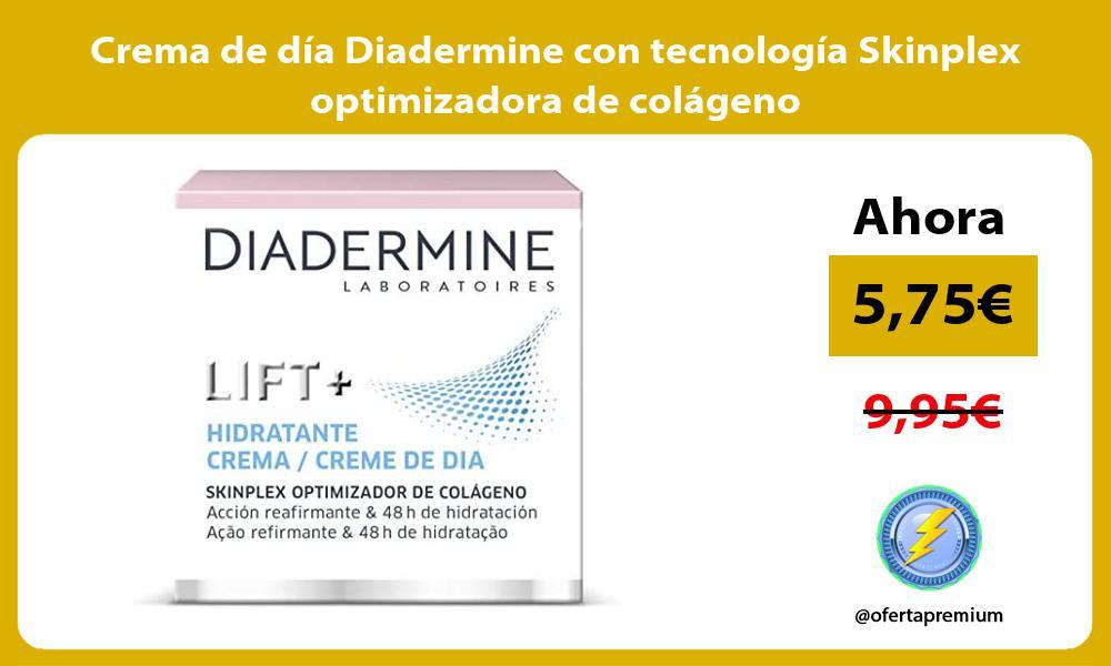 Crema de día Diadermine con tecnología Skinplex optimizadora de colágeno