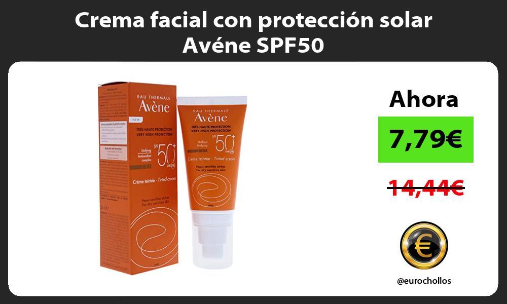 Crema facial con protección solar Avéne SPF50