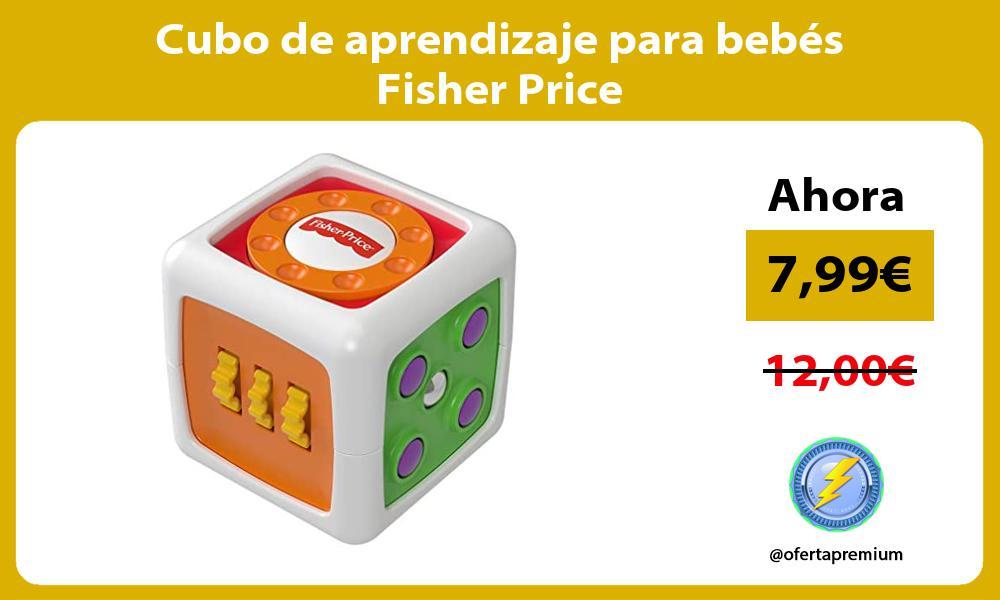 Cubo de aprendizaje para bebés Fisher Price