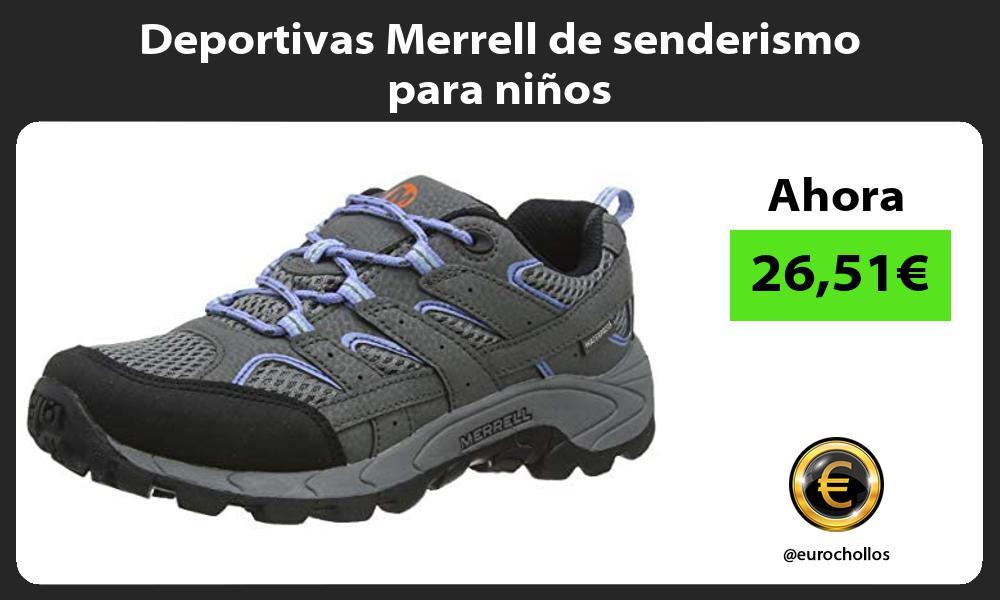 Deportivas Merrell de senderismo para niños