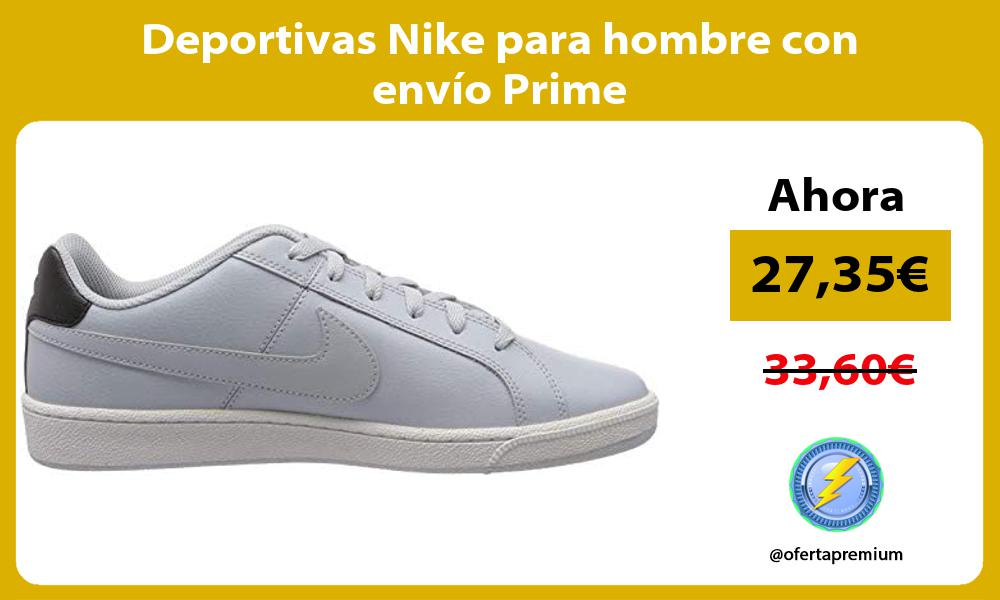 Deportivas Nike para hombre con envío Prime