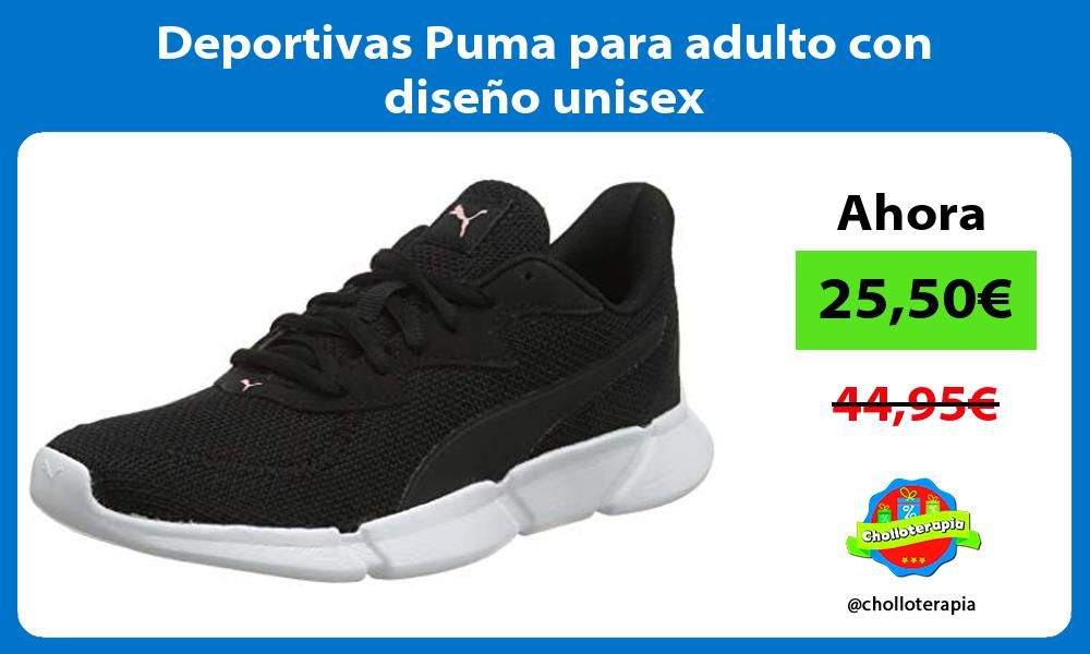 Deportivas Puma para adulto con diseño unisex
