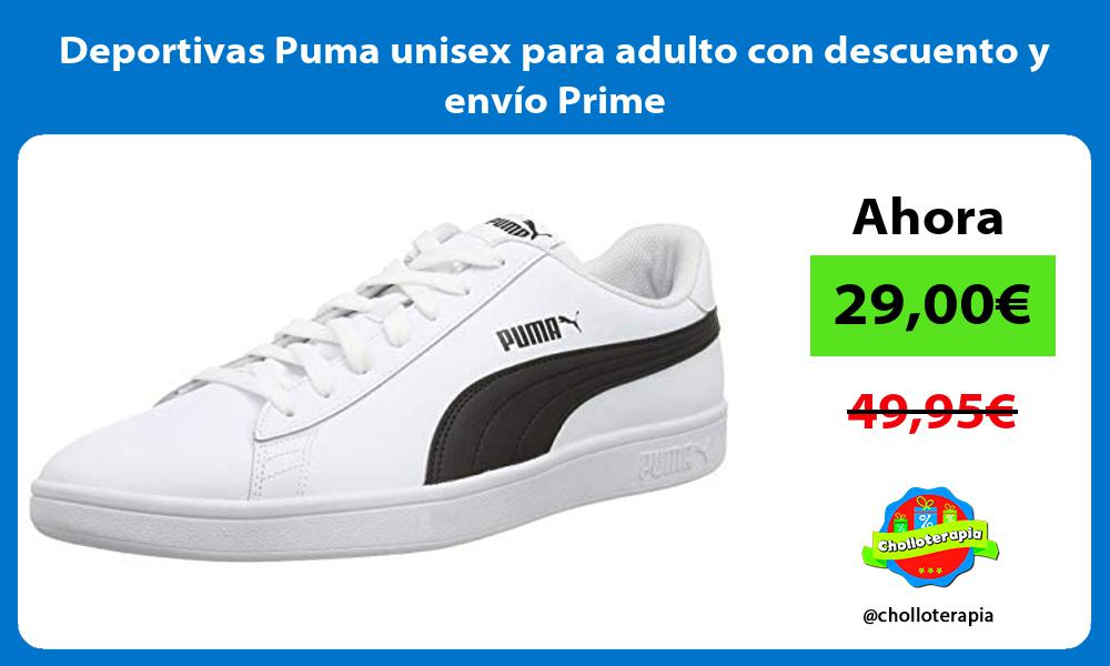 Deportivas Puma unisex para adulto con descuento y envío Prime