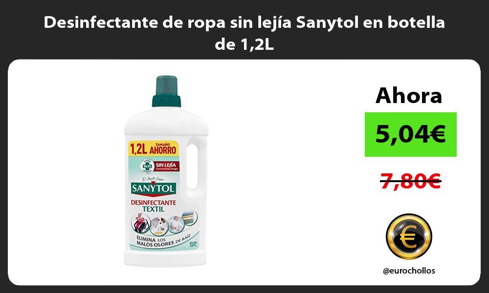 Desinfectante de ropa sin lejía Sanytol en botella de 12L