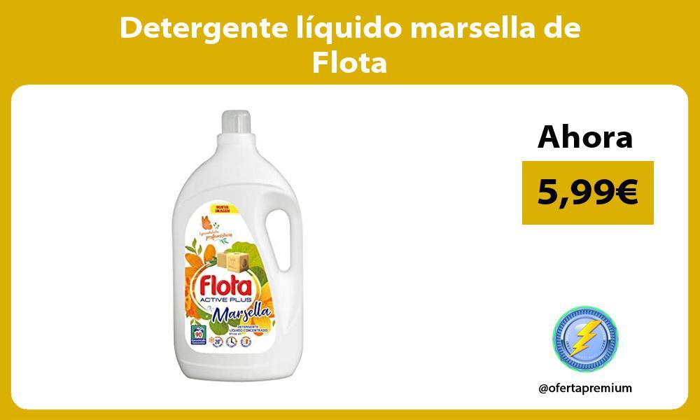 Detergente líquido marsella de Flota