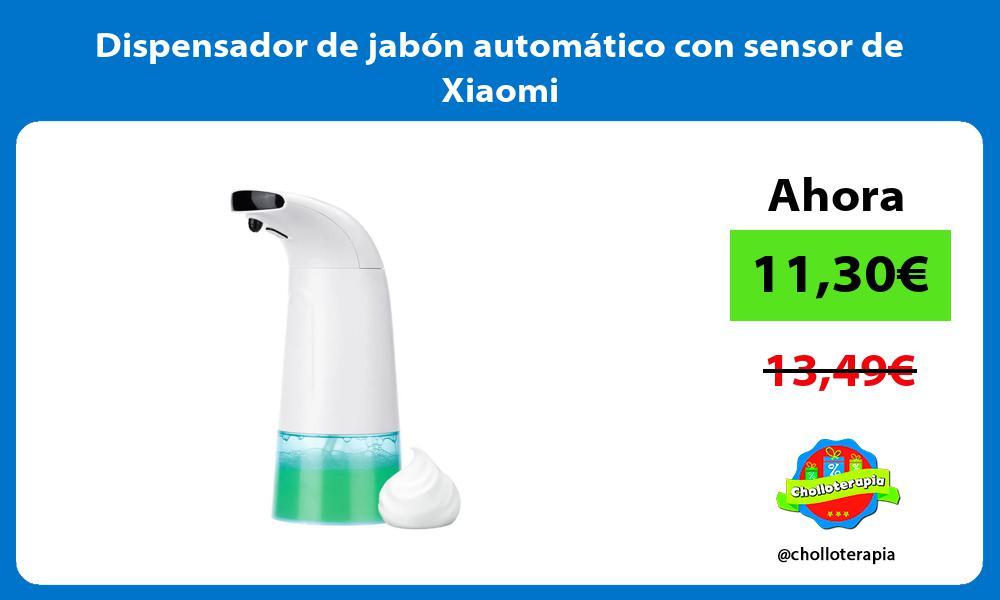 Dispensador de jabón automático con sensor de Xiaomi