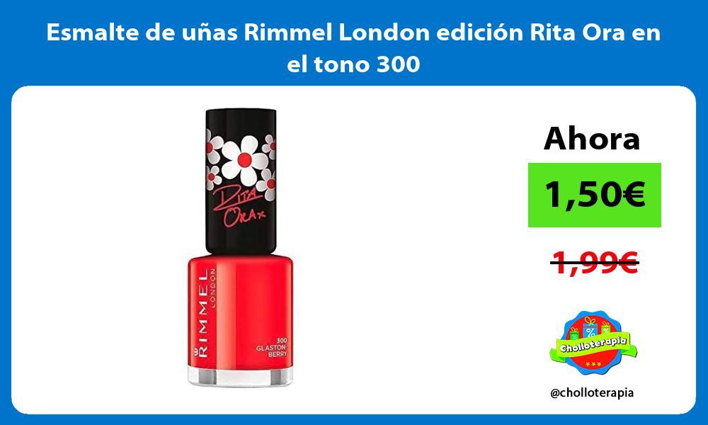 Esmalte de uñas Rimmel London edición Rita Ora en el tono 300