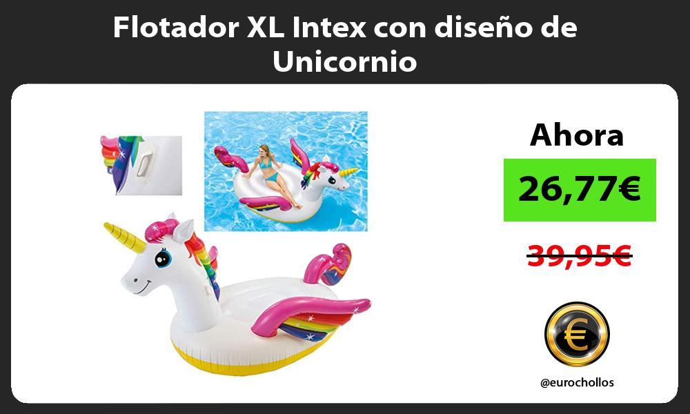 Flotador XL Intex con diseño de Unicornio