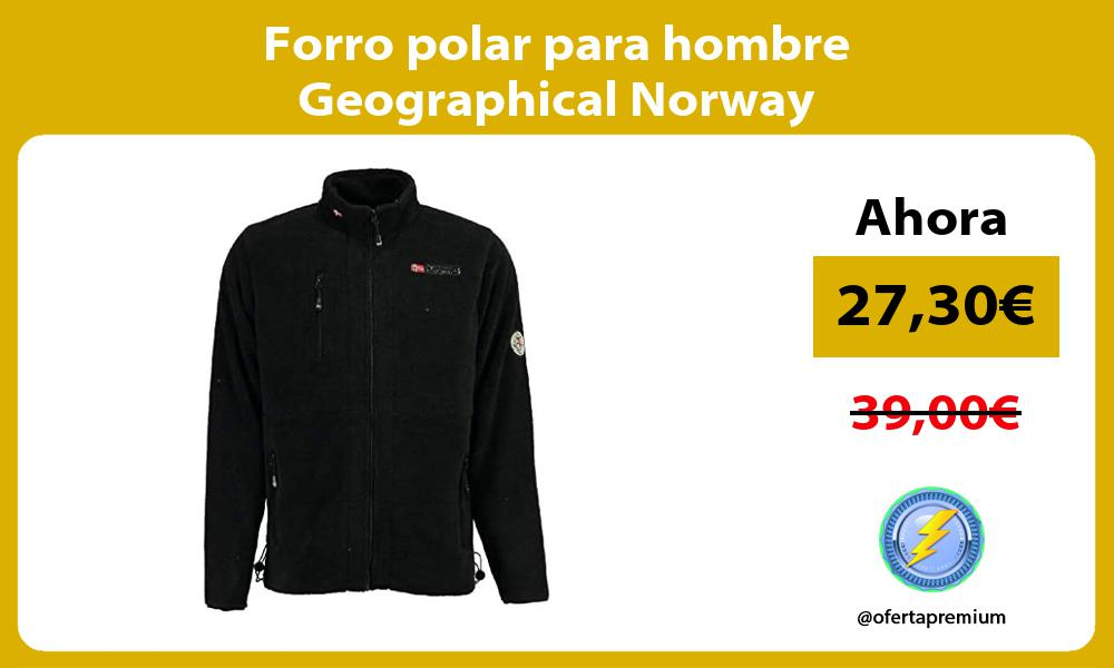 Forro polar para hombre Geographical Norway