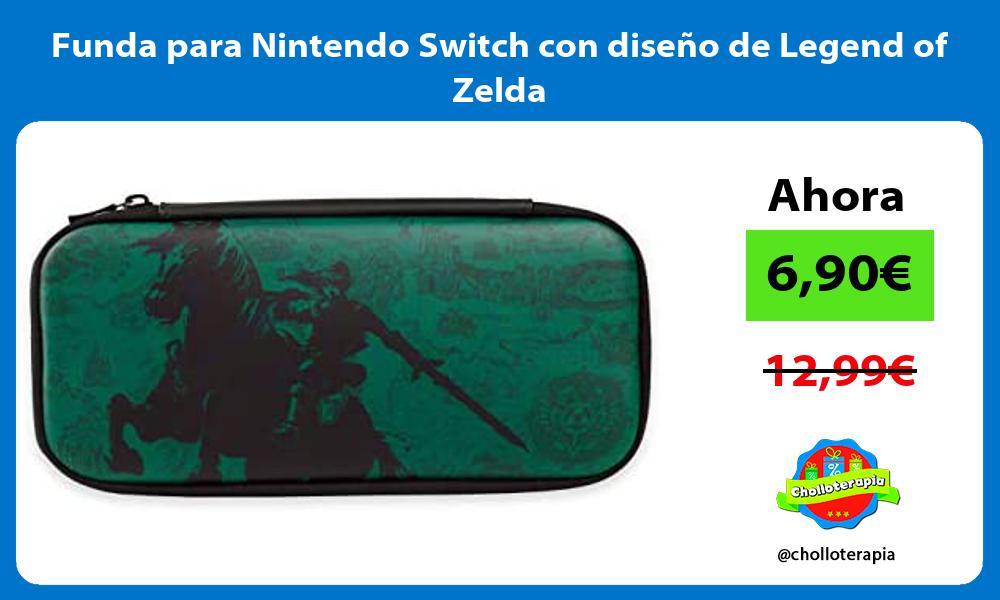 Funda para Nintendo Switch con diseño de Legend of Zelda